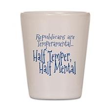 Republicans are Temperamental Shot Glass