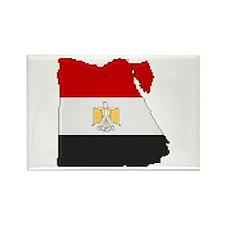 """Pixel Egypt"" Rectangle Magnet"