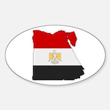 """""""Pixel Egypt"""" Oval Decal"""