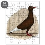 Flying Flight Red Pigeon Puzzle
