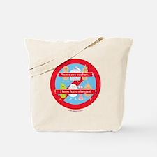 Please Use Caution... I Have Food Allergi Tote Bag