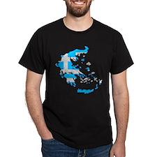 """""""Pixel Greece"""" T-Shirt"""