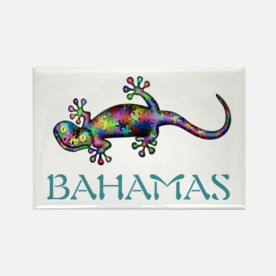 Bahamas Gekco Magnets