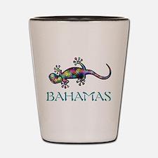Cute Bahamas vacation Shot Glass