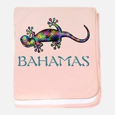 Unique Bahamas baby blanket