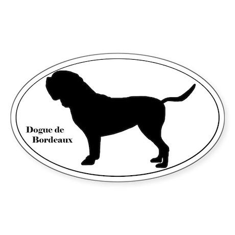 Dogue de Bordeaux Silhouette Sticker