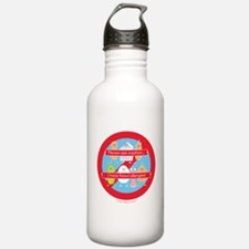 Please Use Caution... Sports Water Bottle