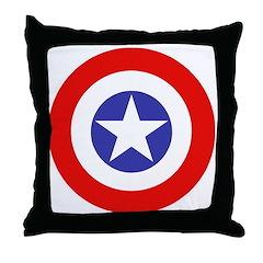 Star Target Throw Pillow