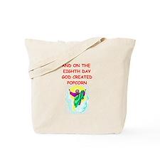 popcorn Tote Bag