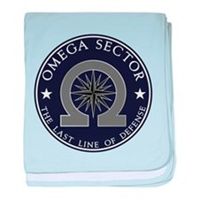 Omega Sector baby blanket