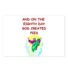 pies Postcards (Package of 8)