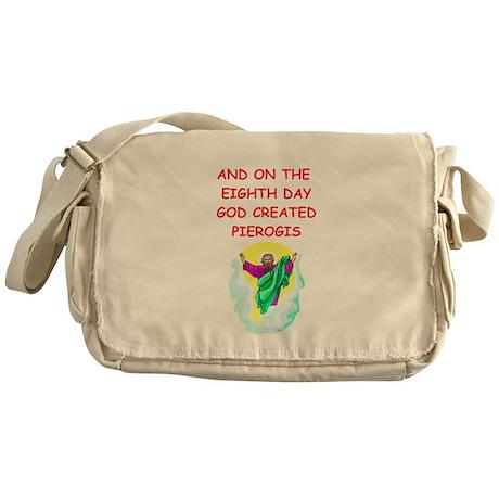 pierogis Messenger Bag