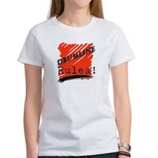 Drumline Rules Marching Band Tee