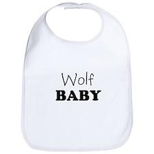 Wolf baby Bib