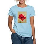 Red Gerbera Daisy Flower Women's Light T-Shirt