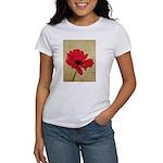 Red Gerbera Daisy Flower Women's T-Shirt