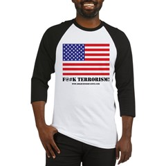 F#Terrorism USA Baseball Jersey