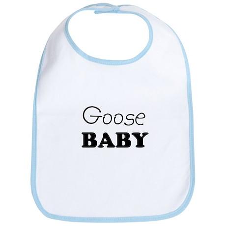 Goose baby Bib