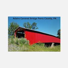 Adairs Covered Bridge Rectangle Magnet