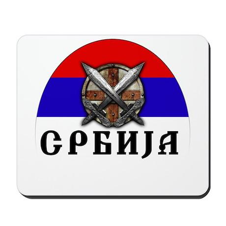 Serbian Mousepad