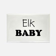 Elk baby Rectangle Magnet