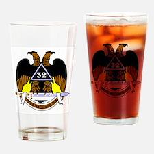 Scottish Rite (Color) Drinking Glass