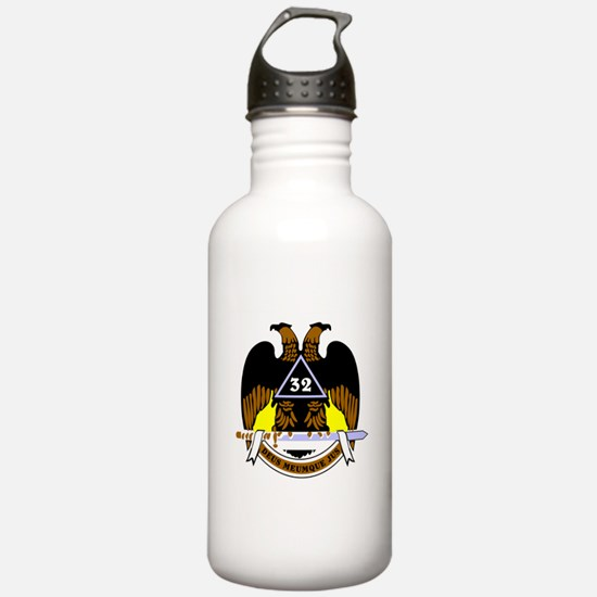 Scottish Rite (Color) Water Bottle