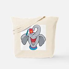 Shriner Elephant Tote Bag