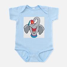 Shriner Elephant Infant Bodysuit