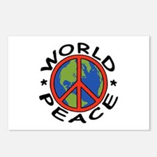 World Peace Postcards (Package of 8)
