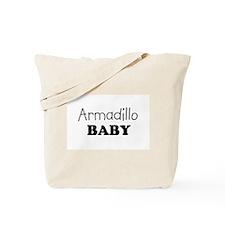 Armadillo baby Tote Bag
