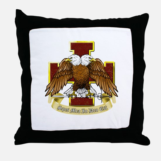 Scottish Rite (Full) Throw Pillow