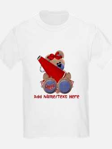 Teddy Cheerleader (red) T-Shirt
