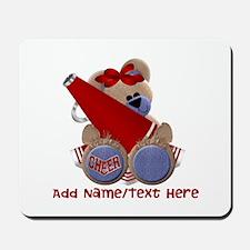 Teddy Cheerleader (red) Mousepad