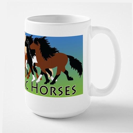 Icelandic horses Mugs