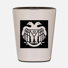 Scottish Rite (Dark) Shot Glass
