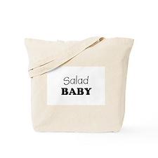 Salad baby Tote Bag