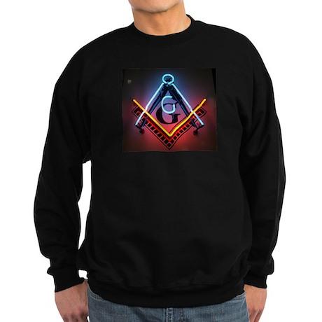Neon Blue Lodge Sweatshirt (dark)