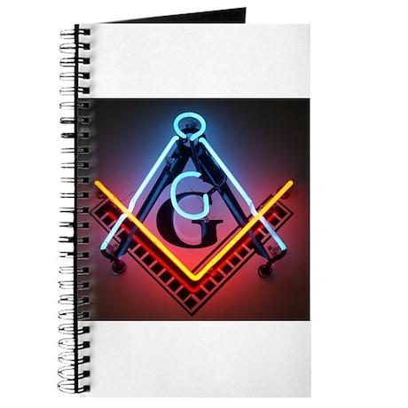 Neon Blue Lodge Journal