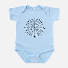 Math Geek Unit Circle Infant Bodysuit