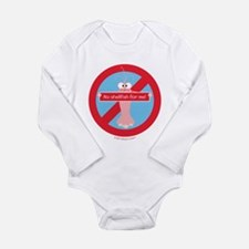No Shellfish For Me! By Allergy-A-Wear™ Body Suit