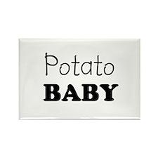 Potato baby Rectangle Magnet