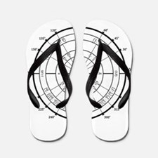 Math Geek Unit Circle Flip Flops