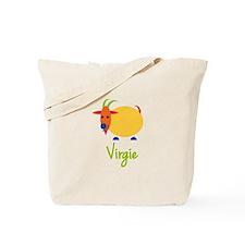 Virgie The Capricorn Goat Tote Bag