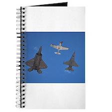 Funny Tomcat fighter jet Journal
