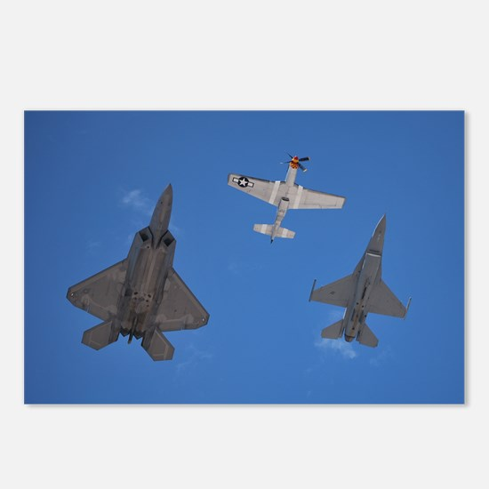 Tomcat fighter jet Postcards (Package of 8)