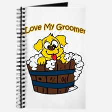 I Love My Groomer Journal
