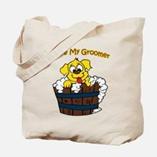 I Love My Groomer Tote Bag