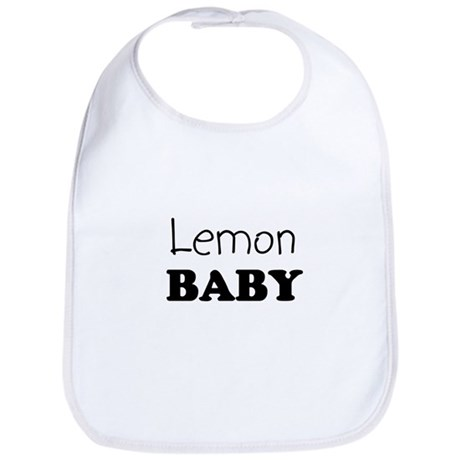 Lemon baby Bib