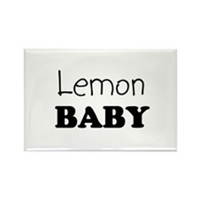 Lemon baby Rectangle Magnet